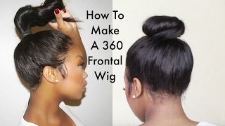 getlinkyoutube.com-ChrissyBales || Step By Step Tutorial On How To Make A 360 Frontal wig