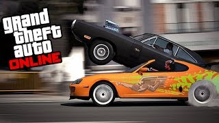 getlinkyoutube.com-GTA 5 FAST AND FURIOUS DRAG RACE (DOM VS BRIAN) - Mrjksaw