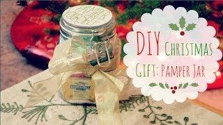 getlinkyoutube.com-DIY Christmas Gift Idea: Pamper Jar