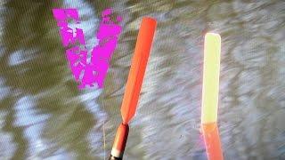 рыбалка как забросить далеко супер легкий поплавок