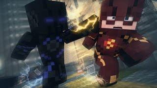 Minecraft: SUPER HEROES PVP #5 - FLASH VS ZOOM ‹ Ine ›