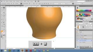 getlinkyoutube.com-Efekty 3D: Bryła obrotowa - Illustrator CS6