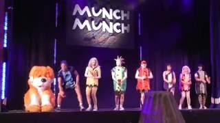 getlinkyoutube.com-Butlins Skyline Gang Caveman Capers full show Bognor Regis