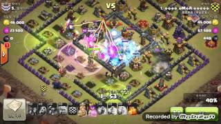 getlinkyoutube.com-[COC]골페위 10홀 완파 2015 08 15