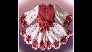 getlinkyoutube.com-Замечательная вязаная крючком детская одежда