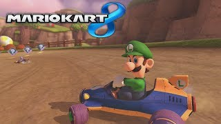 getlinkyoutube.com-Mario Kart 8 - Luigi Death Stare Compilation