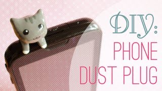 getlinkyoutube.com-DIY: Phone Dust Plug