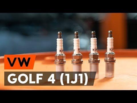 Wie VW GOLF 4 (1J1) Zundkerze wechseln (AUTODOC TUTORIAL)