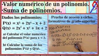 getlinkyoutube.com-Polinomios. Ejercicio 8 prueba acceso ciclos grado superior 2015. Canarias.
