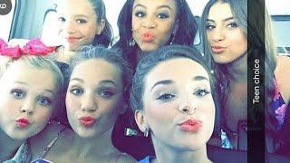 getlinkyoutube.com-Dance Moms at the Teen Choice Awards 2015!