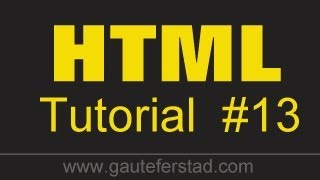 getlinkyoutube.com-HTML Tutorial 13 Adding Pictures to your Website