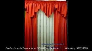 getlinkyoutube.com-CORTINAS CLASICAS CONFECCIONES & DECORACIONES NORMA EN GAMARRA