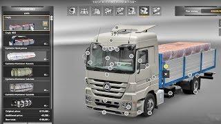 getlinkyoutube.com-Mercedes Mega Tuning Mod ETS2 (Euro Truck Simulator 2)