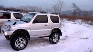 getlinkyoutube.com-jimny, 4x4, snow