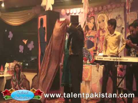 Girl Dress Color Change Magic Talent Pakistan