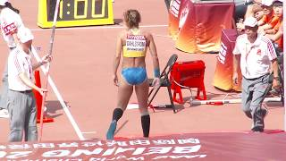 getlinkyoutube.com-Malin Dahlström 2015, a beautiful Swedish pole vault woman