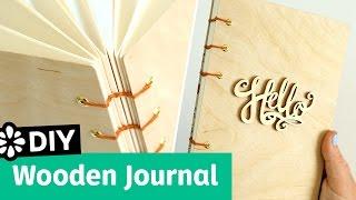 DIY Wooden Journal | Sea Lemon