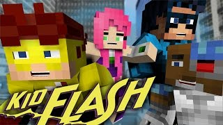 getlinkyoutube.com-Kid Flash Help The Teen Titans! (Minecraft Roleplay)