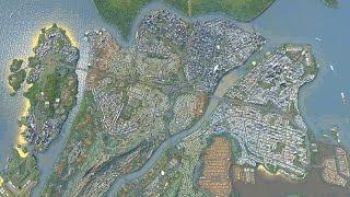 getlinkyoutube.com-Cities Skylines - Fluxburgh [Map Download]
