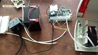 getlinkyoutube.com-Tutorial conectare componente sistem de alarma (KIT DSC 585 SIR, detector PYR-4122)