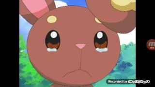 getlinkyoutube.com-Pokemon DP: Pikachu makes Buneary cry