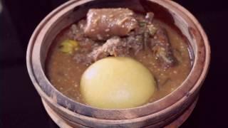 Sauce gouagouassou à la viande de biche