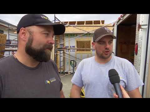 Atelier sur la fabrication de toit pour la Fabrique Atypique