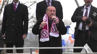 Cumhurbaşkanı Erdoğan: (FETÖ) Zannediyor ki ABD ölene kadar beni koruyacak