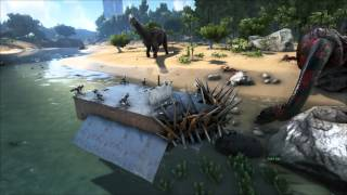getlinkyoutube.com-ARK Survival Evolved Warship, new raft item