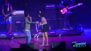 """getlinkyoutube.com-Kendrick Lamar performs """"m.A.A.d City"""" with a fan live at Sweetlife Festival"""