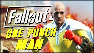 getlinkyoutube.com-Fallout 4 Mods & Funny Moments | ONE PUNCH MAN MOD!
