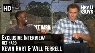 getlinkyoutube.com-Will Ferrell and Kevin Hart Exclusive Interview - Get Hard