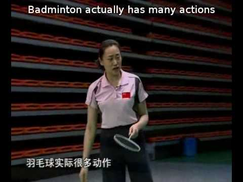 Episode 03 part 1 - Backcourt backhand: Badminton Training by Zhao  and Xiao