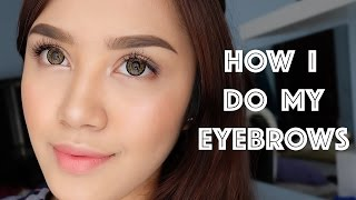 getlinkyoutube.com-How I Do My Eyebrows | Vira Yunita
