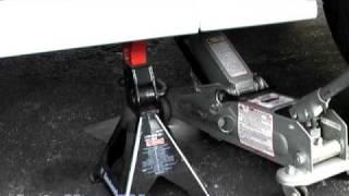 getlinkyoutube.com-How To Raise or Lift Your Car onto Jack Stands--AutoHow.TV