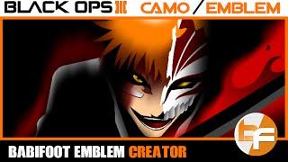 getlinkyoutube.com-Black Ops 3 Emblem Tutorial 050 - Bleach Kurosaki Ichigo #Babifoot