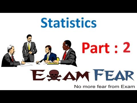 Maths Statistics part 2 (Mean Median Mode) CBSE class 10 Mathematics X