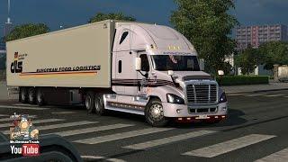 getlinkyoutube.com-[ETS2 v1.23] Freightliner Cascadia v1.1+ Addons