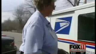 Postal worker delivers more than mail
