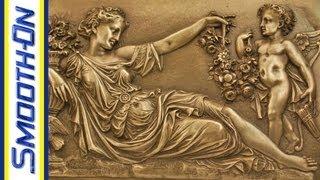 getlinkyoutube.com-Resin Casting Tutorial: Metal Cold Casting Real Bronze Powder and Resin