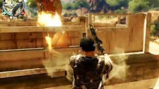 getlinkyoutube.com-Just Cause 2 - Gameplay Trailer (Long) [HQ]
