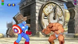 getlinkyoutube.com-Marvel vs Capcom 2 - Revolution of Heroes [M.U.G.E.N.]