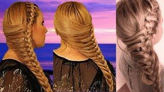 getlinkyoutube.com-TRENZA OTOÑO INVIERNO 2013-2014 peinado cute para cabello largo y mediano
