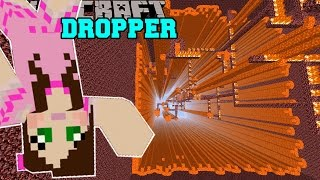 getlinkyoutube.com-Minecraft: LAVA DROPPER OF DOOM!! - LIBRARY DROPPER - Custom Map [2]