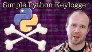 getlinkyoutube.com-How To Make A Simple Python Keylogger