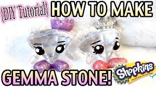 getlinkyoutube.com-How to Make Gemma Stone Shopkins! - Doll/Toy Craft DIY Tutorial