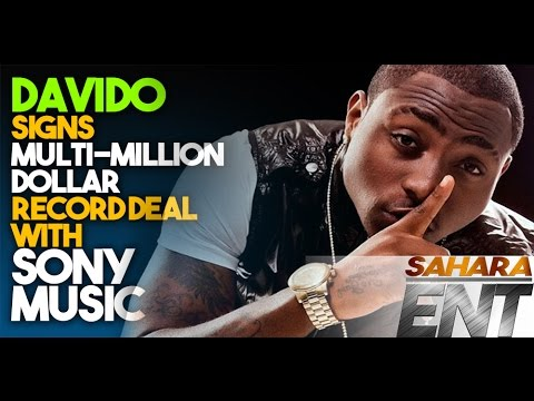 Davido Signs Multi-million Dollar Record Deal With Sony Music