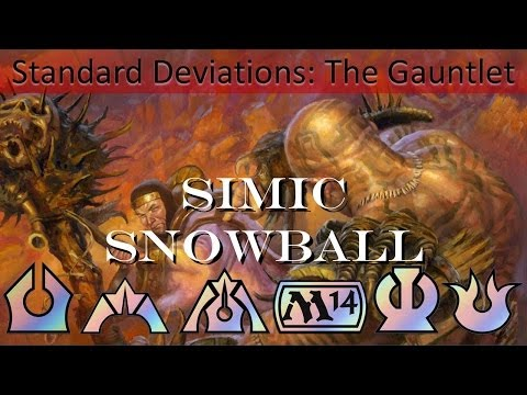 Standard Pauper Gauntlet Round 2 Simic Snowball