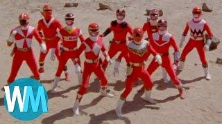 Top 10 Red Power Rangers
