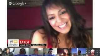 WWE Hangout #4 con Layla